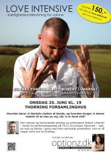 Foredrag med Robert Lubarski